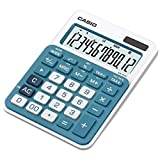 Casio MS-20NC-BU Tischrechner in Trendfarbe, 12-stelliges...
