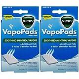 Vicks VapoPads Waterless Vaporizer Scent Pads - 2 pk