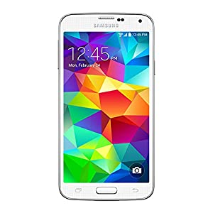 Samsung Galaxy S5 G900F Smartphone Sim Free Factory Unlocked Mobile Phone (WHITE)