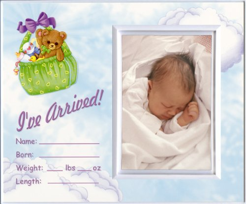 I've Arrived! - Picture Frame Baby Shower Gift - 1