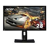 Acer ディスプレイ ゲーミングモニター CB281HKbmjdprx 28インチ/4K解像度/1ms/HDMI 2.0(HDCP2.2対応)/Gaming