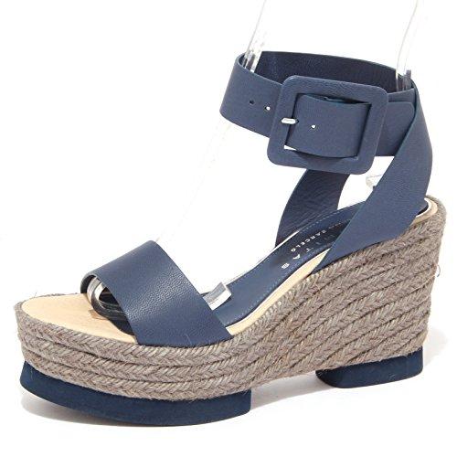 8900P sandalo PALOMITAS BY PALOMA BARCELO blu scarpa donna sandal woman [40]