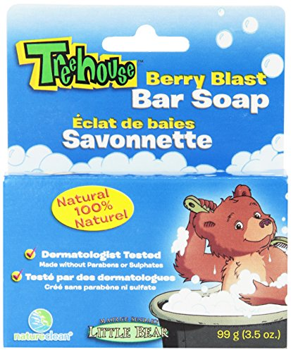Treehouse By Natureclean Bar Soap, Berry Blast, 99 Gram (Pack of 12)