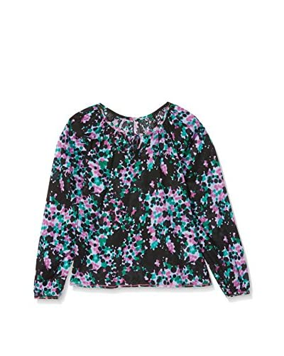 CUSTO GROWING Blusa Kale Kalei Negro / Lila / Verde