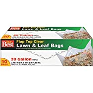 Presto Products 729215 Lawn And Leaf Bag-39GAL CLR LAWN& LEAF BAG
