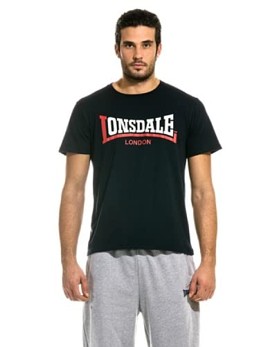 Lonsdale T-Shirt Manica Corta Two Tone