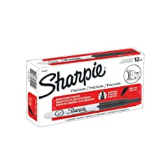 Sharpie Retractable Ultra Fine Point Permanent Markers, 12 Black Markers (1735790)