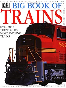 Books about trains for 3 year olds