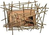 【正規輸入品】 ALESSI アレッシィ Blow up - Bamboo collection マガジンラック FC15 WD