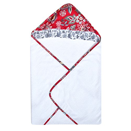 Trend Lab Waverly Charismatic Bouquet Hooded Towel