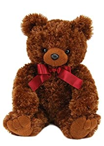 "Purr-Fection Bailey Brown Bear 15"" Plush"