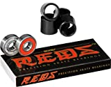 Bones Reds Precision Skate Bearings With FREE Kata Bones Spacers
