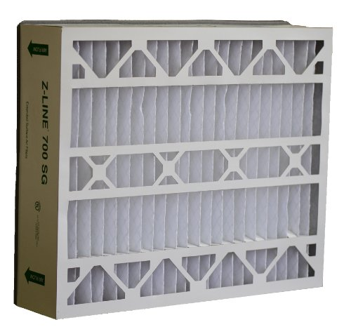 Glasfloss Industries SGP202562PK Z-Line Series 700 SG MERV 10 Air Cleaner Replacement Filter Option, 2-Case (Research Household Furnaces compare prices)