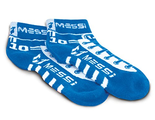 Messi Footbubbles calcetines (azul)