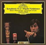 ブラームス:交響曲第2番&ハイドン変奏曲