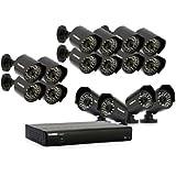 Lorex LH0161001C16F Vantage 16-Channel 1 Terabyte DVR and 16 Cameras (Black)