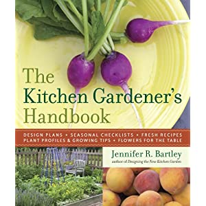 "Book cover of yet to be released ""The Kitchen Gardener's Handbook"""
