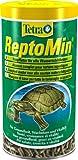 Tetra ReptoMin, schwimmfähigen Futtersticks Alleinfutter, Reptilien schildkröte Terrarium Aquarium Aquaterrarium Panzer, 1 Dose (1 x 1 L)