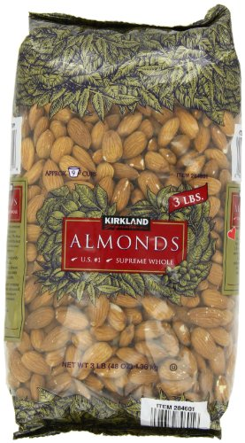 Signature Almonds, Whole suppreme, 3 Pound (096619846016)