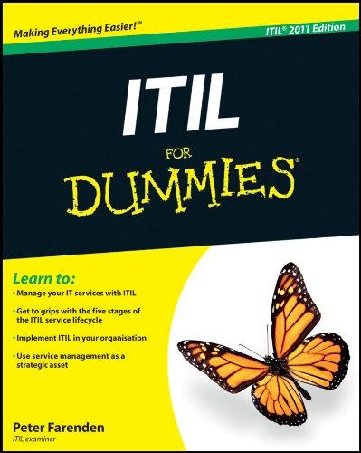 Peter Farenden - ITIL For Dummies
