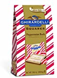Ghirardelli Peppermint Bark Squares with Dark Chocolate, 7.06 oz Bag