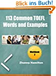 113 Common TOEFL Words and Examples:...