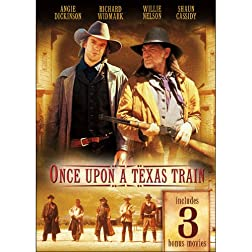 Once Upon a Texas Train Includes 3 Bonus Movies