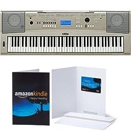 Yamaha YPG-235 76-Key Portable Grand Graded-Action USB Keyboard with $50 Amazon Gift Card