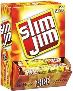 Slim Jim Meat Sticks 100/box