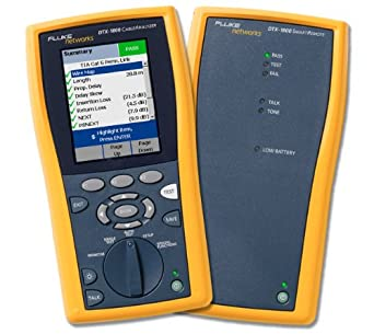 Fluke Networks DTX-1800/SR Smart Remote Add-on for DTX-1800 Cable Analyzer