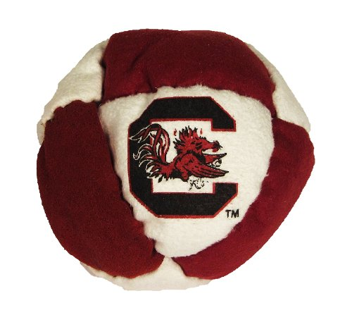 Hacky Sack - College Logo 8 Panelled South Carolina Design - 1