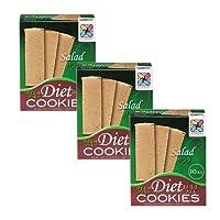 【サニーへルス公式ストア限定セット】ダイエットクッキーおいしさプラス(サラダ:3箱)
