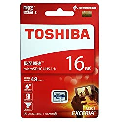 Toshiba Exceria M301 16GB Class10 48MB/s Memory Card