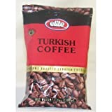Elite Ground Roasted Turkish Coffee 3.5 Ounce 48 Per Case.