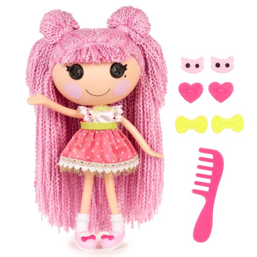 Lalaloopsy Loopy Hair Doll Jewel Sparkles front-487405