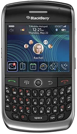 BlackBerry Curve 8900, Black (T-Mobile)