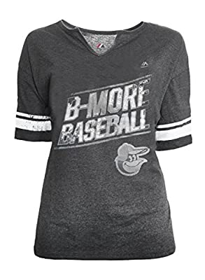 Majestic Women's Baltimore Orioles V-Neck Tee