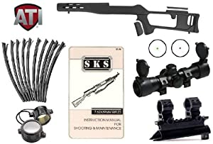 Advanced Technology International SKS Fiberforce Fixed Stock Ventilated Forearm w ... by ATI-Ultimate Arms Gear
