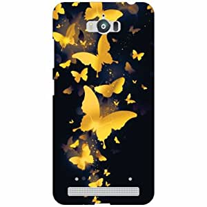 Asus Zenfone Max ZC550KL Back Cover - Silicon Butterfly Designer Cases