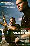 END OF WATCH - JAKE GYLLENHAAL - Imported Movie Wall Poster Print - 30CM X 43CM