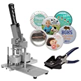1 inch Badge and Button Making Machine includes 100 buttons
