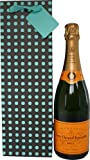 Veuve Clicquot Yellow Label 75cl in Bottle Gift Bag with Gift Tag