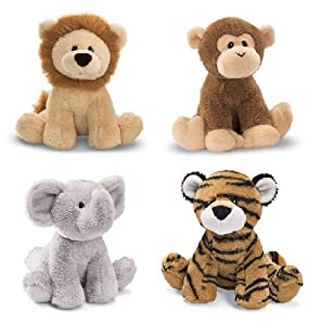 Chatter Jungle Animal (Lion, Monkey, Elephant, OR Tiger)