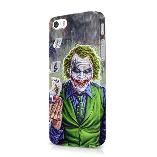 Joker Cards Hard Snap-On Protective Case Cover For Iphone 5 / Iphone 5S