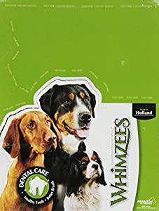 PARAGON 154113 Whimzees Stix Dental Treat for Pets, Medium, 100 Count, 7.1 lbs.