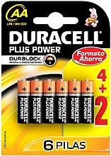 Comprar Duracell - Pila AA (blister 4 unidades + 2 de regalo)