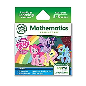 LeapFrog Explorer My Little Pony Friendship is Magic Learning Game from LeapFrog