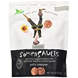 Somersaults Crunchy Nuggets, Salty Pepper, 6-Ounces (Pack of 6)