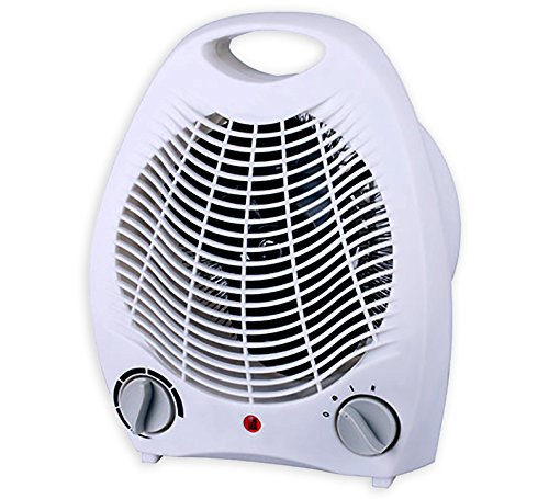 Smart 1500 Watt Quiet Fan Space Heater Table Top Forced Air Heat Portable & Adjustable Thermostat (Cool Heat Fan compare prices)