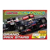 Scalextric Grand Prix Stars 1:64 Scale Slot Race Set From Debenhams